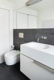 Interior house, modern bathroom Royalty Free Stock Photo