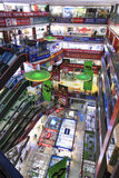 Interior of the HQ Mart one of the biggest mall selling electronic devices in Shenzhen. Stock Photo