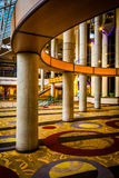 The interior of the Hyatt Regency in Baltimore, Maryland. Royalty Free Stock Image