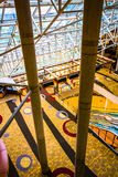 The interior of the Hyatt Regency in Baltimore, Maryland. Royalty Free Stock Photography