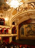 Interior of the Iasi National Theatre Royalty Free Stock Images