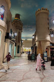 Interior IBN Battuta Mall store. Each hall is decorated in the s Stock Photo