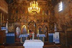 Interior. The iconostasis in the Orthodox Church Royalty Free Stock Photography