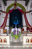 Interior image from Church of Our Lady Stock Photos
