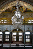 Interior of Imperial Hall in Topkapi palace Stock Photo