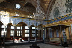 Interior of Imperial harem in Topkapi Palace Museum, Istanbul Stock Images