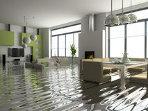 Interior In Insurance Case Royalty Free Stock Images
