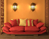 Free Interior In Morocco S Style Royalty Free Stock Photos - 19125078