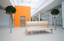Interior In Shopping Mall Royalty Free Stock Photos