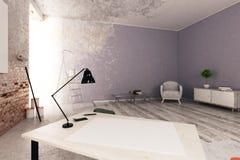Interior inacabado Imagem de Stock