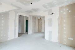 Interior inacabado del edificio imágenes de archivo libres de regalías