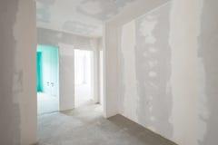 Interior inacabado del edificio imagen de archivo libre de regalías