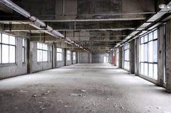 Interior inacabado do edifício Fotografia de Stock Royalty Free