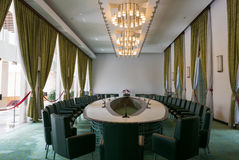 Interior or the Independence Palace in Ho Chi Minh City, Vietnam Stock Image