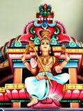 Interior indiano do templo imagem de stock