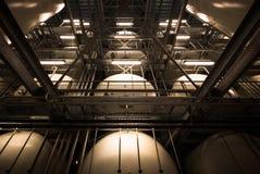 Interior industrial Fotos de Stock Royalty Free