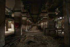 Interior industrial fotos de archivo