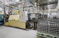 Interior industrial da fábrica fotografia de stock royalty free