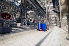 Interior industrial de uma fábrica do álcool Fotografia de Stock