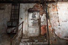 Interior industrial del abandono Fotografía de archivo