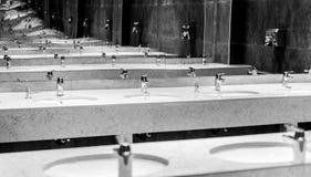 Interior infinito del espejo Imágenes de archivo libres de regalías