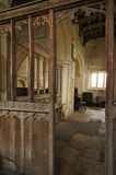 Interior of Inglesham Church Royalty Free Stock Photography
