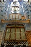 Interior Gaudi`s creation house Casa Batllo stock photo