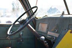 Interior internacional velho do caminhão Imagens de Stock Royalty Free