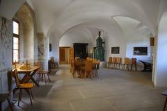 Interior interno de Rappottenstein del castillo fotos de archivo