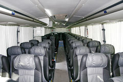 Interior of an interurban coach Stock Photography
