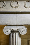 Interior ionic pillar Stock Photo