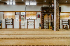 Interior of Iraqi Mosque Royalty Free Stock Photos