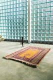 Interior islamic mosque Stock Photos