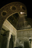 Interior of an Islamic temple Royalty Free Stock Image
