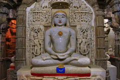 Interior of Jain temple, Jaisalmer, India Stock Photos