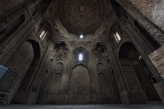Interior Jameh Friday Mosque. Isfahan. Iran Stock Images