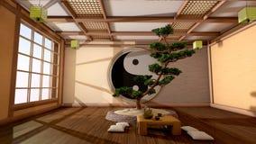 Interior japonés Fotografía de archivo