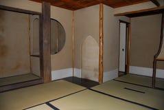Interior japonés de la casa del zen del vintage foto de archivo libre de regalías