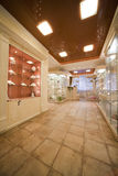 Interior Of A Jewel Shop Royalty Free Stock Photography