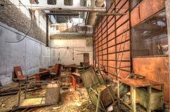 Interior of Jupiter Factory in Pripyat (HDR) Royalty Free Stock Photo