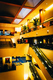The interior of the JW Marriot in Washington, DC. Royalty Free Stock Image