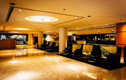 The interior of the JW Marriot in Washington, DC. Royalty Free Stock Photos