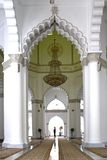 Interior of Kapitan Kling Mosque Royalty Free Stock Photos