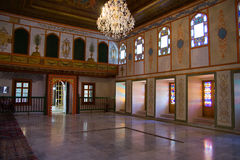The interior of the Khan's Palace. Royalty Free Stock Photography