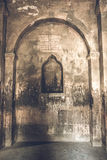 Interior of Khor Virap ancient Monastery. Located in Ararat valley in Armenia Royalty Free Stock Photo