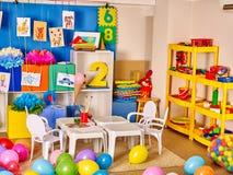 Interior of a kindergarten Royalty Free Stock Photo