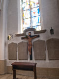 Interior of the kirche Royalty Free Stock Photo
