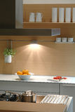 Interior of a kitchen royalty free stock photos