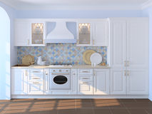 Interior of kitchen. Stock Photos