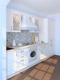 Interior of kitchen. Royalty Free Stock Photos